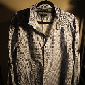 Men's Banana Republic Patterned Button Down